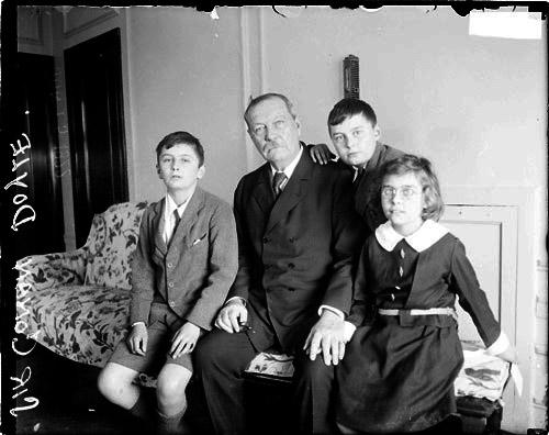 author Arthur Conan doyle rare video footage interview
